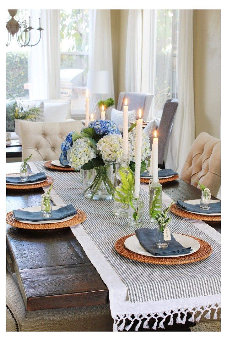 Pin By Barbara Massey On Tablescapes In 2021 Dining Room Table Centerpieces Spring Table Decor Dining Room Table Decor