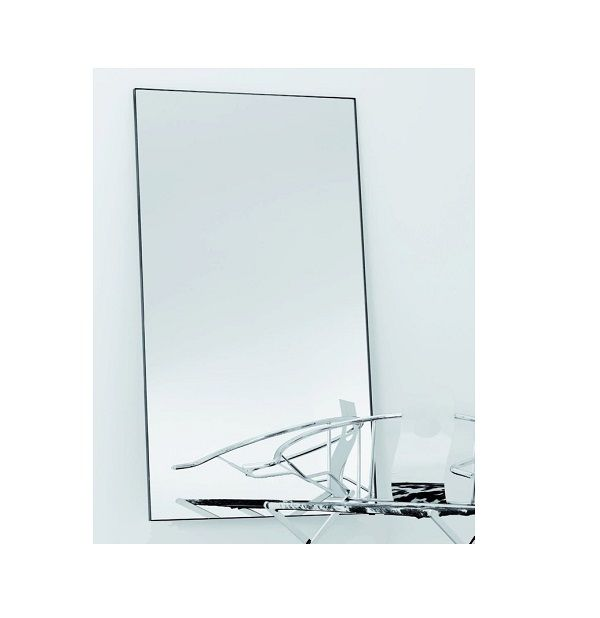 Black Metal frame Indoor Mirror – 3 sizes  This simple yet elegant designwould suit many interiorapplications. The frame is black metal and the Mirror is mounted on MDF for added strength. Available in 3 sizes.  It can be wall hung or Free Standing.  Dimension: D: 2000mm x 850mm x 25mm E: 1800mm x 850mm x 25mm F:1200mm x 1200mm x 25mm