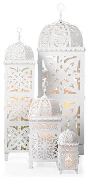 Casablanca Lanterns - mediterranean - candles and candle holders - Z Gallerie