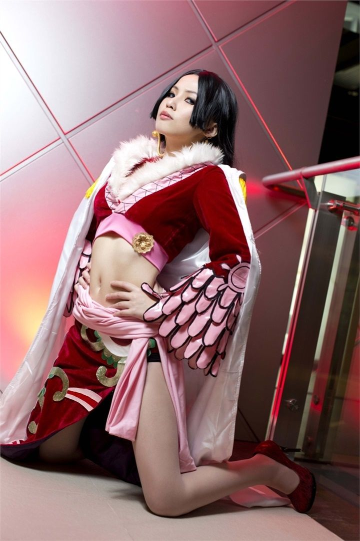 Cheesy(芝心�? Boa Hancock Cosplay Photo