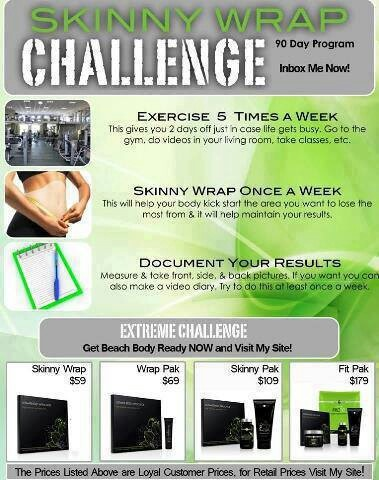 Skinny wrap challenge it works the crazy wrap thing pinterest