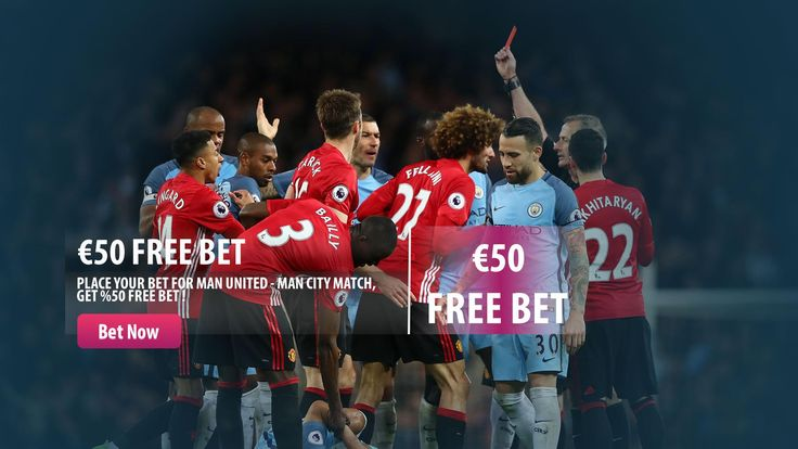 Place your bet, get your %50 Free Bet for Manchester Derby !  #freebet #bonus #manchester #derby #bet #parasino  http://www.parasino16.com/en/promotions/man-derby-free-bet