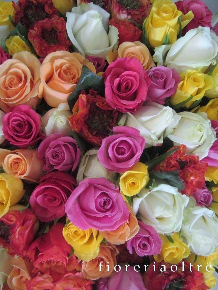 Fioreria Oltre/ Mixed roses