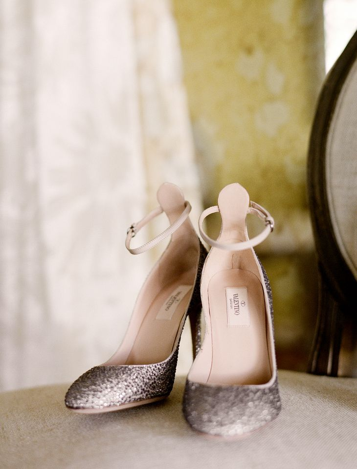 valentino shoes via once wed