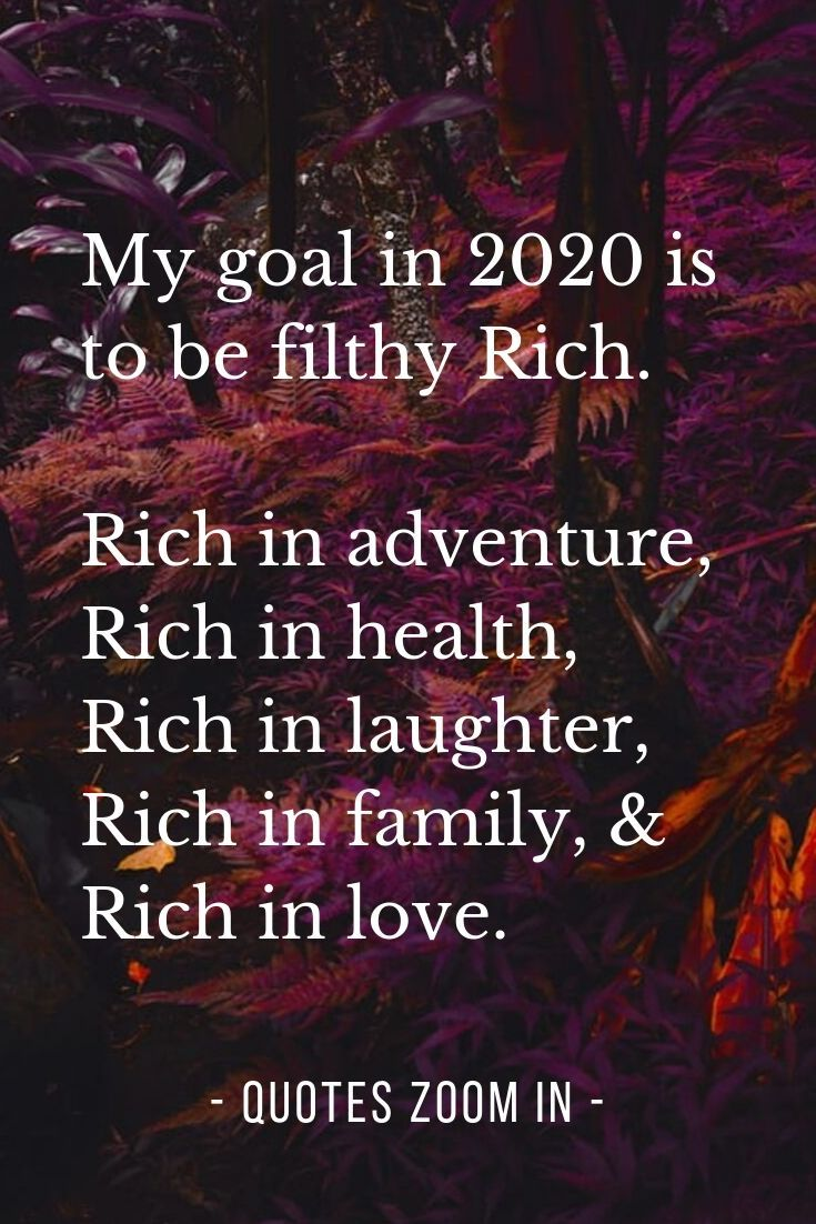 Happy New Year Goals Wishes For 2020 Year My Goal In 2020 Is To