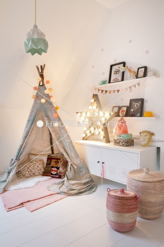 #teepee #starlight #girlsroom