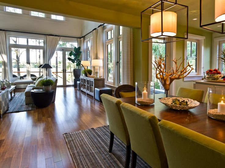 An Open Layout Throughout This Charleston Home Allows Homeowners To Easily Flow From Room
