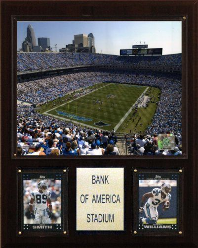 NFL Bank of America Stadium Plaque ** Click on the image for additional details. (This is an affiliate link and I receive a commission for the sales)