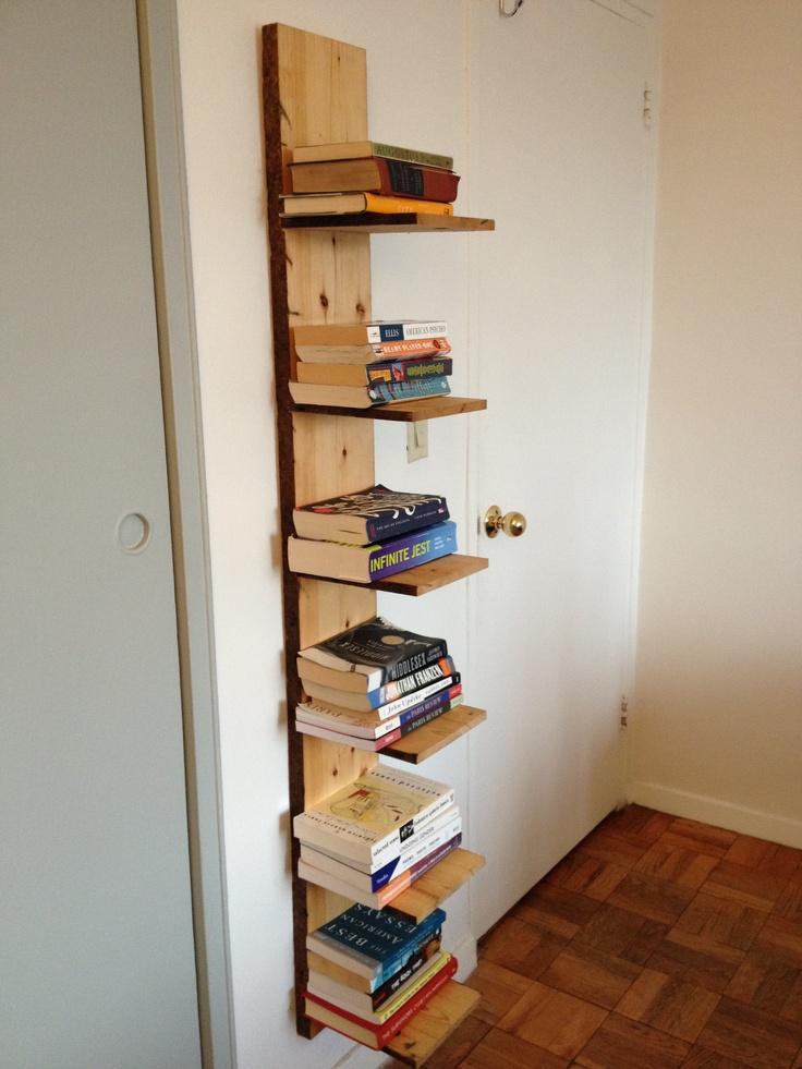 Repurposed 1920s Townhouse Lumber Bookshelf DECORATING