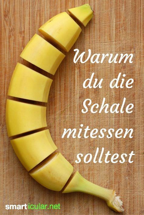 Wusstest du, dass die Schale von Bio-Bananen fast genauso gesund ist wie das Fru…