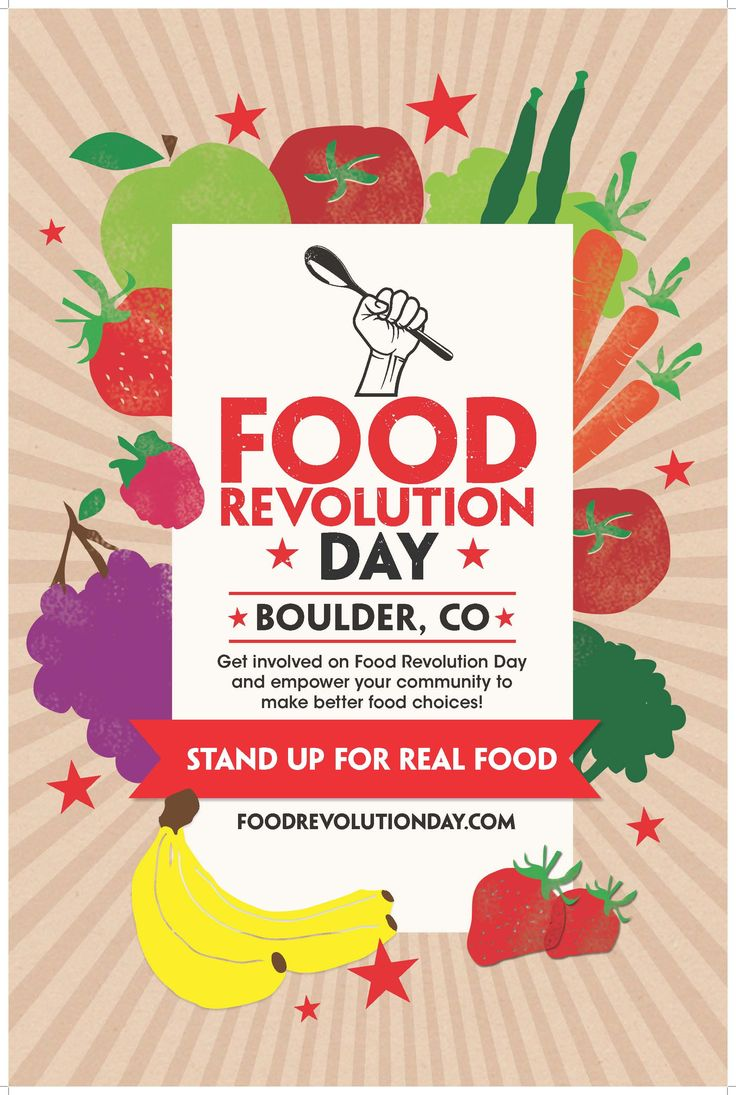 Poster design ideas for school - Food Revolution Day Poster May 17th 2013 Cook It Share It Live It