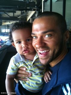 Jesse Williams Daughter | Grey's Anatomy star Jesse Williams is the happy dad of daughter ...