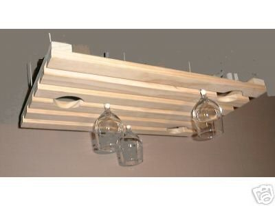 1000 ideas about hanging wine glass rack on pinterest - Porta calici ikea ...