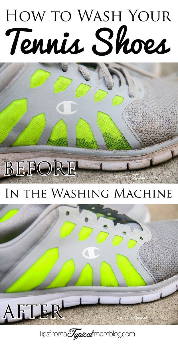 How to Wash Your Shoes in the Washing Machine