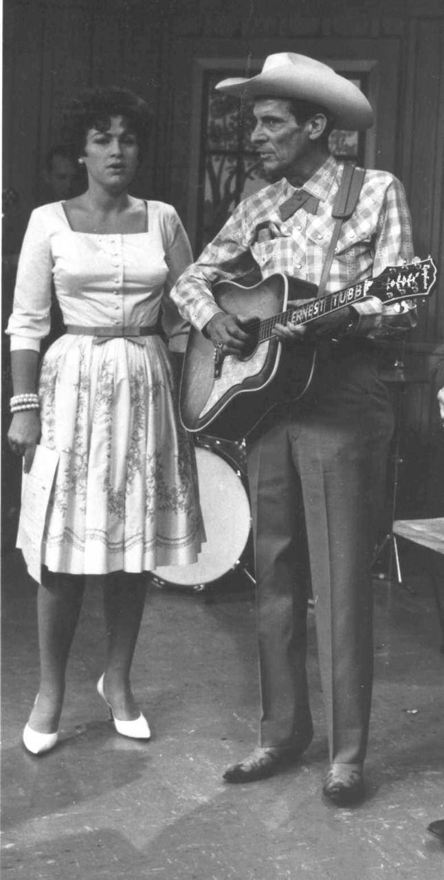 ╰☆╮Patsy Cline with Ernest Tubb   *.♡♥♡♥Love★it