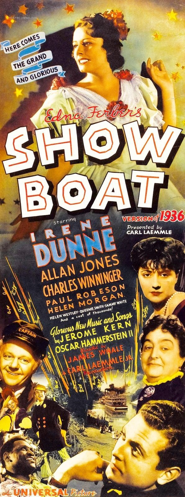 Paul Robeson's version of Old Man River remains the definitive one. Kudos as well to director James Whale