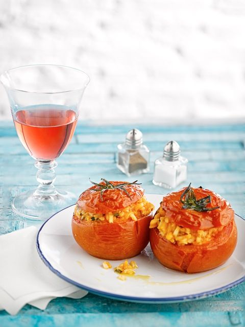 stuffed tomatoes  cooking & styling Antonia Kati  Photography John Athimaritis