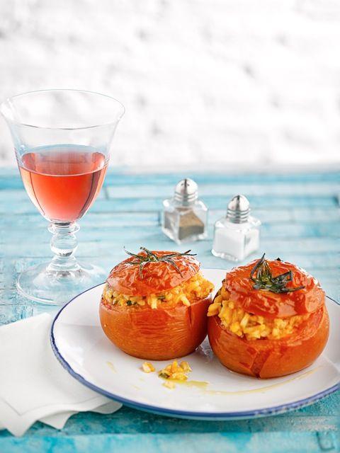 stuffed tomatoes  cooking & styling Antonia Kati  Photography John Athimaritis