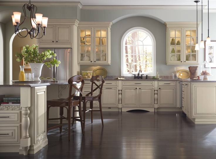 Distressed Grey Rta Kitchen Cabinets