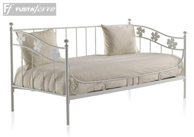 Camas blancas juveniles dormitorios juveniles infantiles - Camas de forja blancas ...