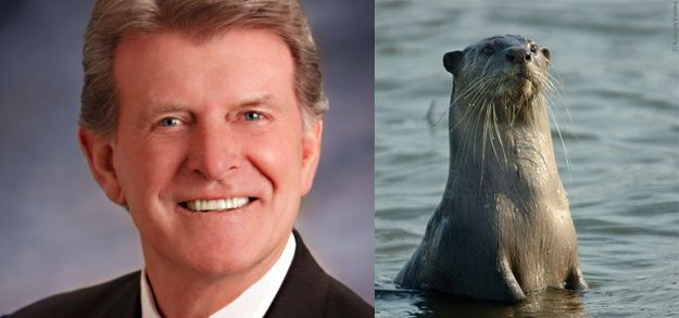 Because Idaho politicians have the BEST names, like Butch Otter: | 45 Reasons Why Idaho Is The Most Underrated State In The Country