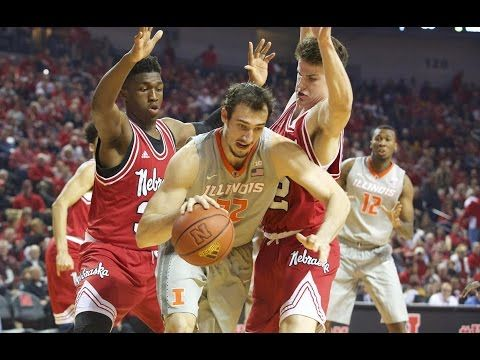 Illinois Basketball Highlights at Nebraska | 2/26/17 - YouTube
