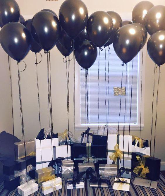 Las 25 mejores ideas sobre globos negros en pinterest y for Decoracion 31 de diciembre