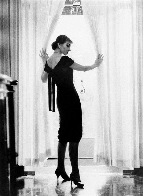 Maria Callas in Milan.
