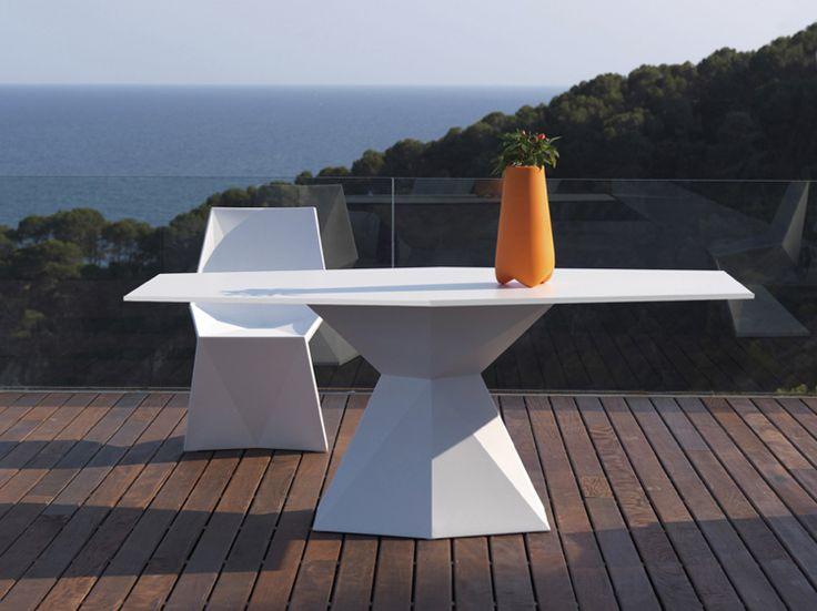 Outdoor Tisch Gartentisch Design Extravagant Vertex Design