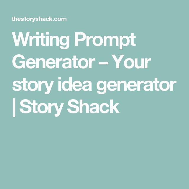Writing Prompt Generator – Your story idea generator   Story Shack