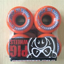 2016 4pcs/Set USA PIG 50mm&56mm&70mm 83A&101A Pro Skateboard Wheels &LONGBOARD wheels SOFT WHEELS FOR SPEED CUIRSER //Price: $US $20.01 & FREE Shipping //     #cosplay