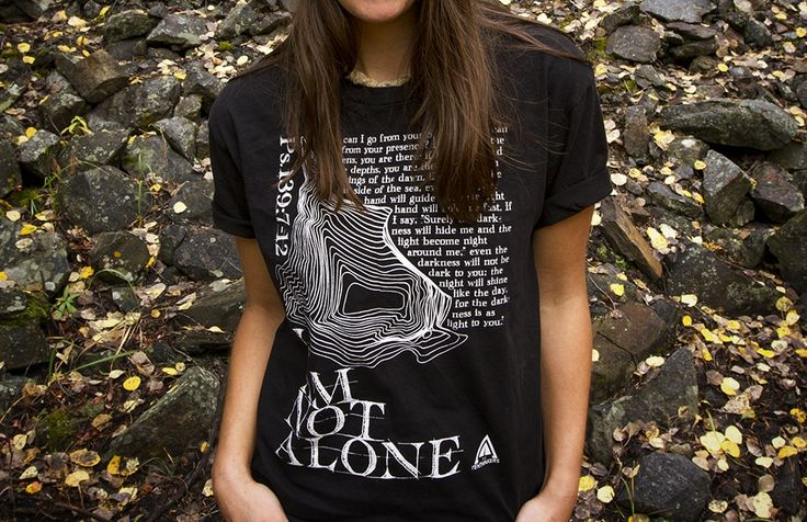 I Am Not Alone | Longs Peak blog post. The heart behind the design.