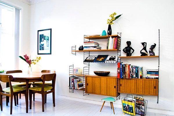 Vintage inspired interior