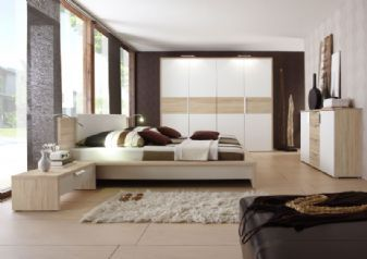 At Chromatiche have great range of furniture design in which Eco bedroom suite is a soft white design with contrasting limed oak veneer. This particular range unique includes modern handles with added thickness to tops and sides. For more bedroom design visit at Chromatiche #luxurybedroom #furnitureuk