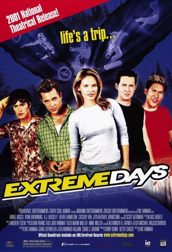 Extreme Days Movie Poster 27x40 (2001) Used Dante Basco ...