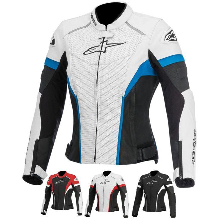 Alpinestars Stella GP Plus R Perforated Womens Leather Street Motorcycle Jacket