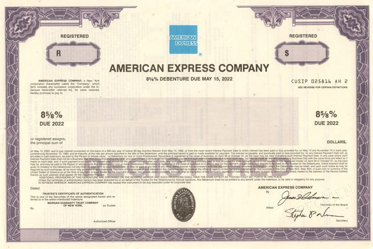 Bond and american gold certificates