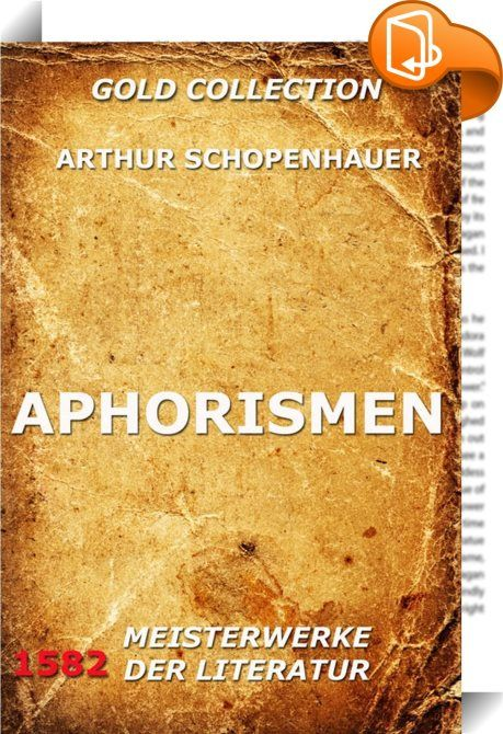 Aphorismen    ::  Ein Aphorismus ist ein philosophischer Gedankensplitter, der üblicherweise als kurzer, rhetorisch reizvoller Sinnspruch (Sentenz, Aperçu, Bonmot) formuliert und als Einzeltext konzipiert wurde. Sogenannte geflügelte Worte und pointierte Zitate gelten aus literaturwissenschaftlicher Sicht nicht als Aphorismen. Erst seit dem frühen 20. Jahrhundert werden Aphorismen als eigenständige Prosagattung anerkannt und erforscht. Sie gelten als widersprüchliche Textform. (aus wik...