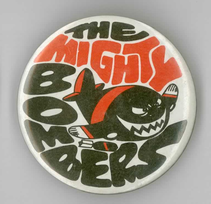 1980's Essendon Bombers Football badge by Weg