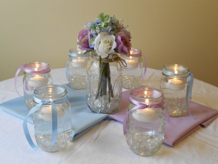 Homemade centerpieces my
