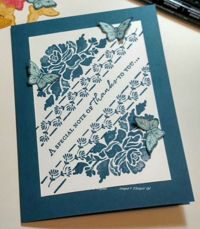 DH dapper floral monochromatic by diane617 - Cards and Paper Crafts at Splitcoaststampers