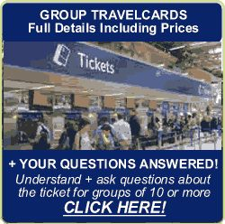 London Group Travelcard Public Transport Tickets