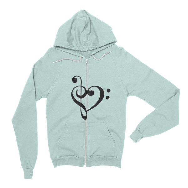 Music Heart Hoodie sweater