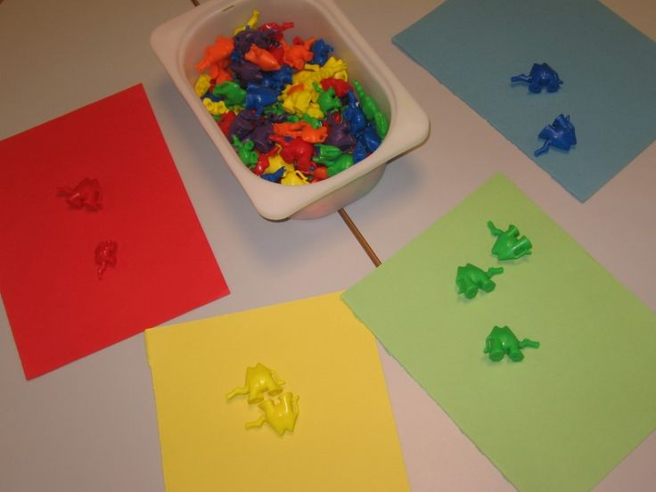 jeu de tri par couleur