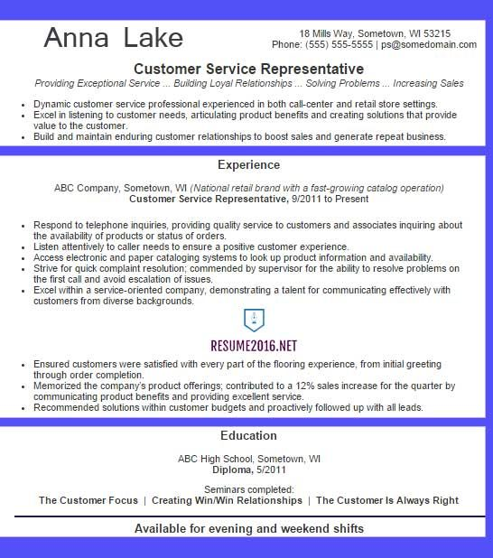 Best 25+ Customer service resume examples ideas on Pinterest - product development resume sample