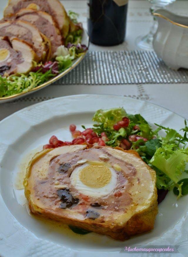 Pollo relleno para Navidad | Cocinar en casa es facilisimo.com