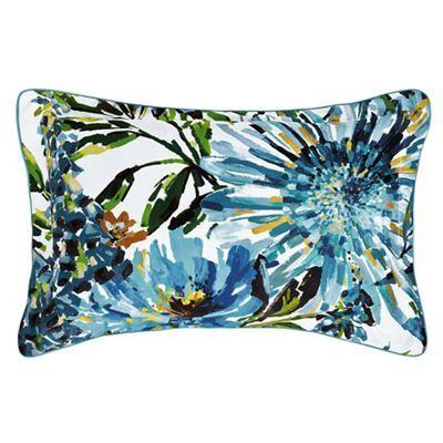Harlequin Multicoloured cotton sateen 200 thread count 'Floreale' Oxford pillow case   Debenhams