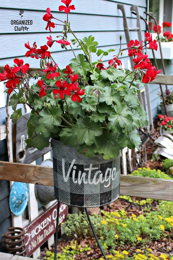 245 best decor flowers images on pinterest country life for Funky garden accessories