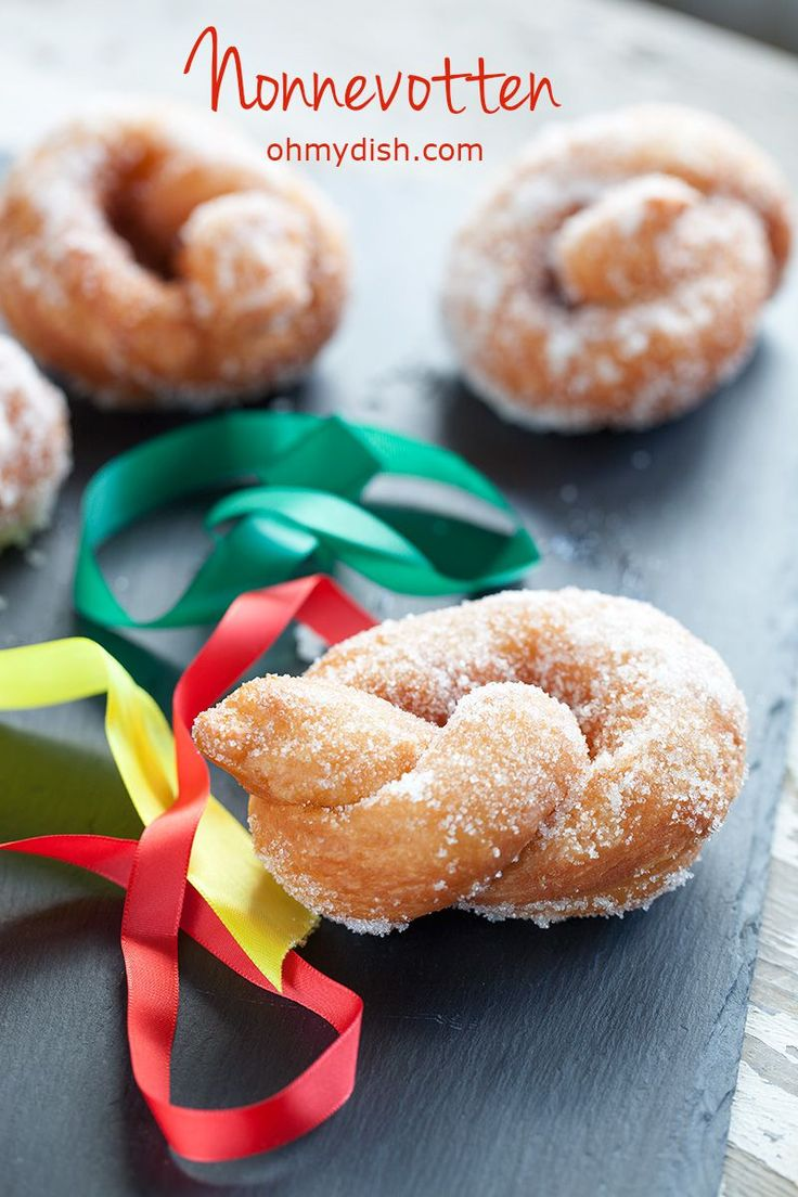 This Dutch sweet bread is also called 'Nonnevotten'. It's a speciality from the south of the Netherlands, during 'Carnaval'. Recipe for 6 people.