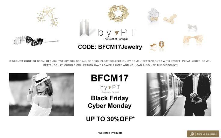 We love BFCM... and you? #bfcm #bfcm2017 #bfcm17 #discount #lowerprices #jewelleryaddict #jewellerydesign #jewellerylovers #jewelryaddict #jewelerylover #thebestofportugal
